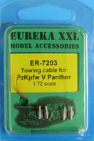 Towing cable for Pz.Kpfw.V Panther Ausf.G Tank