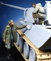 German Panther Commander & Waffen SS Officer - Image 1