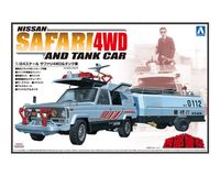 CONCRETE WESTERN NISSAN  SAFARI 4WD AND TANK CAR