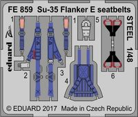 Su-35 Flanker E seatbelts STEEL  KITTY HAWK - Image 1