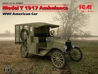 Model T 1917 Ambulance, WWI American Car (100% new molds)