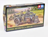 German Motorcycle and Sidecar - Image 1