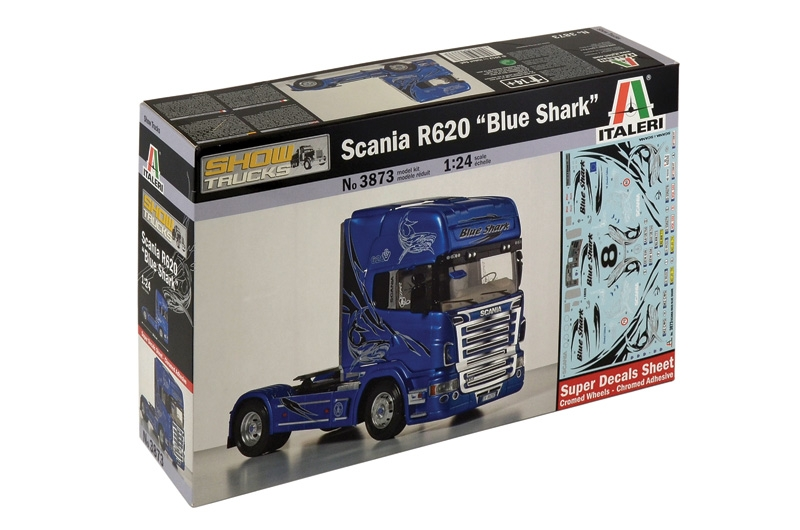 "Scania R620 ""Blue Shark"" - Image 1"
