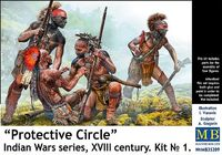"""Protective Circle"" - Indian Wars series"