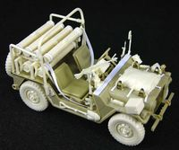 IDF M151A2 OREV Missile Carrier (Late)Con'set (for Tamiya/Academy M151A2) - Image 1