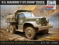U.S. Diamond T 972 Dump Truck Hard Top Cab