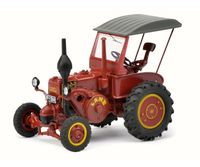 Lanz Bulldog D950 6 with Roof (dark red)