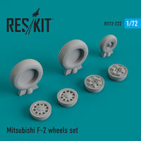 Mitsubishi F-2 wheels set - Image 1