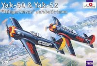 Yakovlev Yak-50 and Yak-52  Flieger Revue aerobatic team(2 models) - Image 1