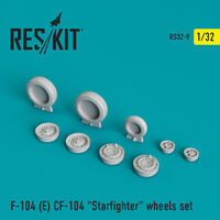"F-104 (E) CF-104 ""Starfighter"" wheels set"