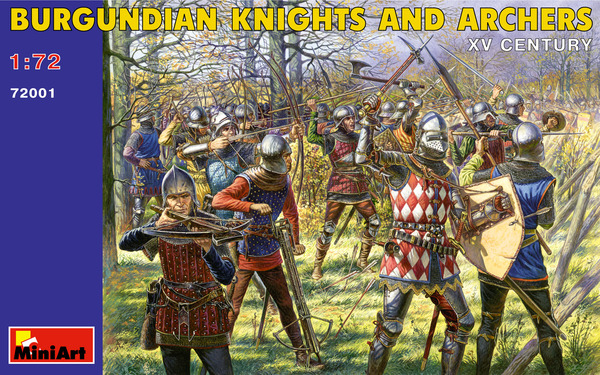Burgundian Knights and Archers XV c. - Image 1