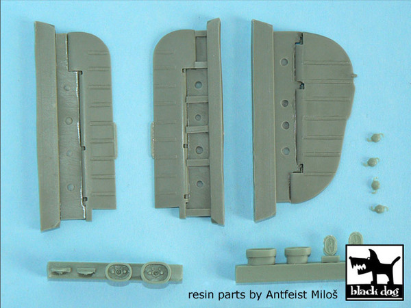 Focke-Wulf FW 190 A, D detail set for Hasegawa kits - Image 1