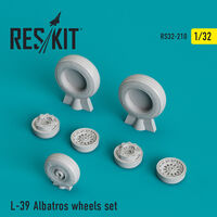 L-39 Albatros wheels set