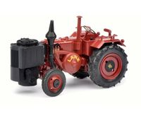 Lanz Bulldog D 9506 with Wood Gasifier (dark red matt)