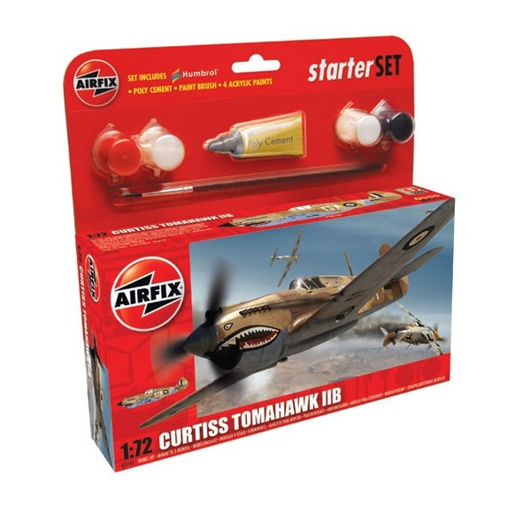 Curtiss P-40B Warhawk Starter Set - Image 1