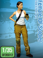 Modern IDF Female soldier