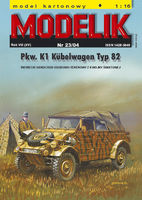 Pkw. K1 Kubelwagen Typ 82 German light car - Image 1