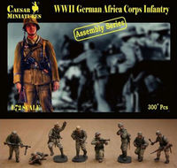 German Africa Corps Infantry (ASSEMBLY SERIES) - Image 1