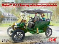 Model T 1911 Touring with American Motorists