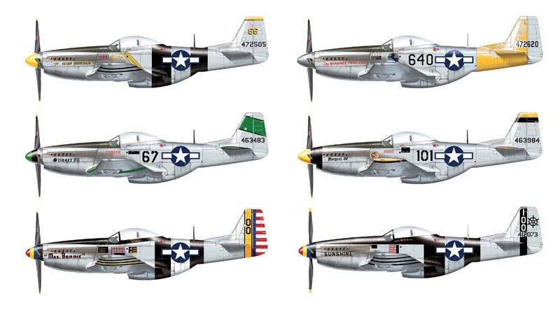 P-51 D/K Pacific Aces Italeri 2743
