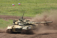 Russian T-80UK MBT