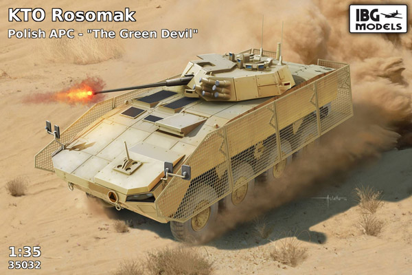 KTO Rosomak Polish APC The Green Devil - Image 1