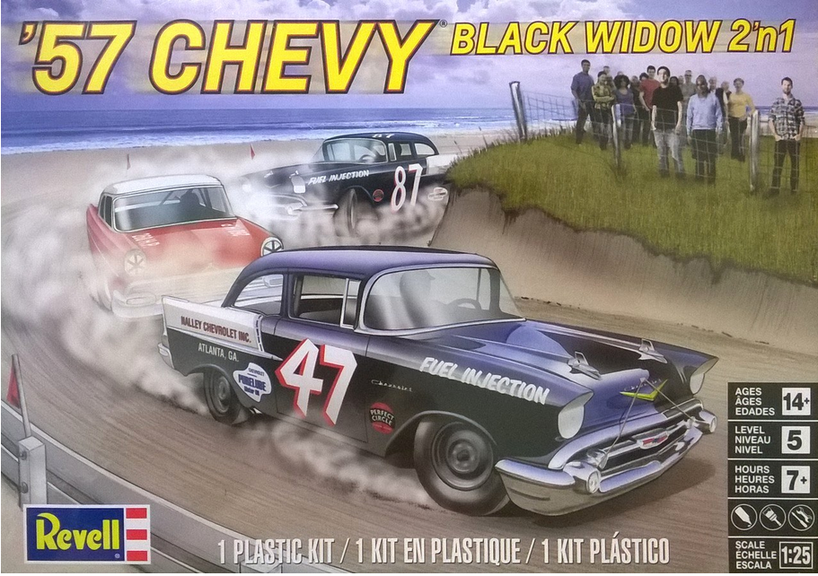 57 Chevy Black Widow 2in1 - Image 1