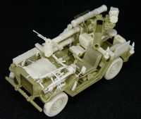 IDF M151A2 OREV (Late) Con' set (for Tamiya/Academy M151A2 TOW Mutt) - Image 1