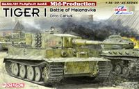 Tiger I Mid-Production w/Zimmerit Otto Carius Battle of Malinava Village 1944