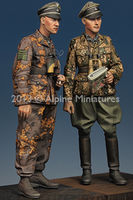 Kurt Meyer & Officer Set (2 figs)