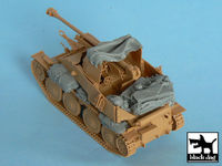 Marder III accessories set for Tamiya 32560, 13 resin parts