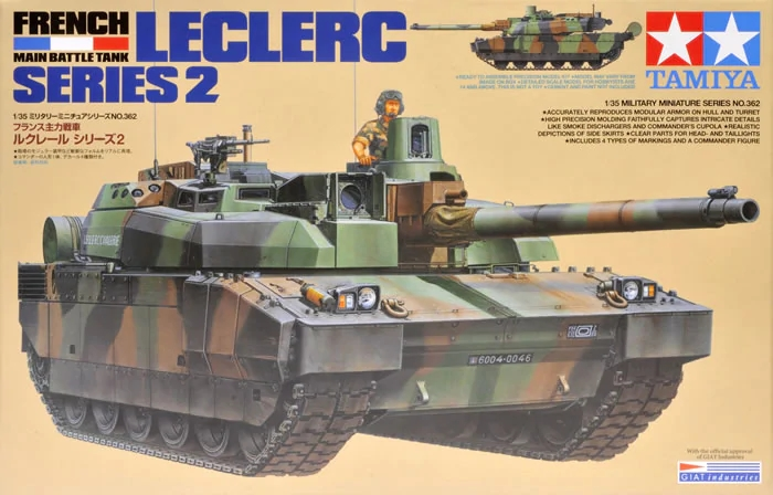 French Main Battle Tank Leclerc Series 2 - Image 1
