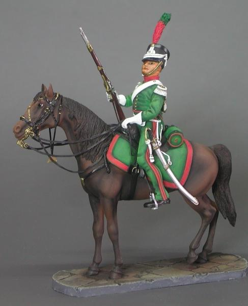 5th Mounted Chasseurs  Duchy Of Warsaw  Borodino 1812 - Image 1
