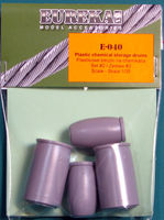 Plastic chemical storage drums Set#2