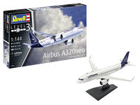 Airbus A320neo Lufthansa New Livery Model Set - Image 1