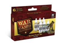 70159 War Games Paint Series - Soviet Paint Set
