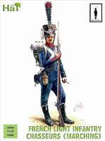 Napoleonic French Chasseurs Marching - Image 1