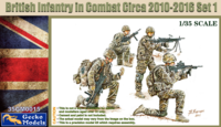 British Infantry In Combat Circa 2010~2012 Set 1