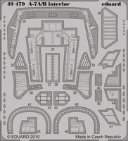 A-7A/B interior S.A. HOBBY BOSS - Image 1