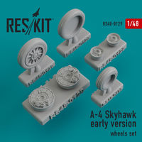 A-4 Skyhawk early version wheels set - Image 1