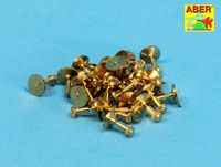 Turned imitation of Hexagon bolts x30 pcs - Image 1
