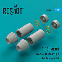 F-18 Hornet exhaust nozzles for Academy Kit - Image 1