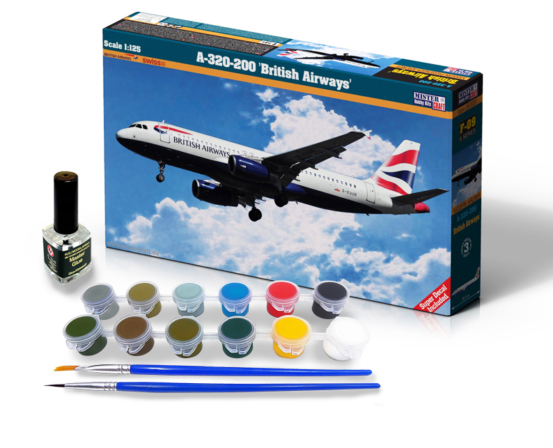 A-320-200 British Airways - Model Set - Image 1