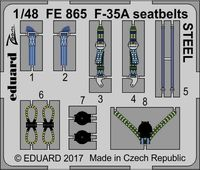 F-35A seatbelts STEEL  MENG - Image 1
