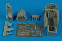 A-7E Corsair II cockpit set (early v.) Hobby boss