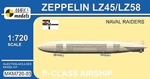 P-class Airship Zeppelin LZ45/LZ58 `Naval Raiders` - Image 1