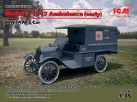 Model T 1917 Ambulance (early), WWI AAFS Car
