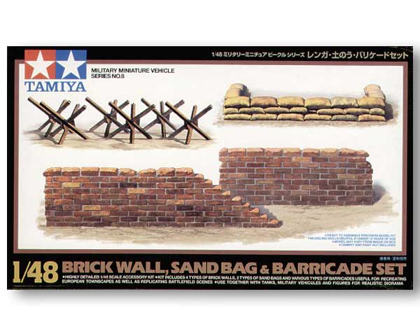 Brick Wall, Sand Bag & Barricade Set - Image 1