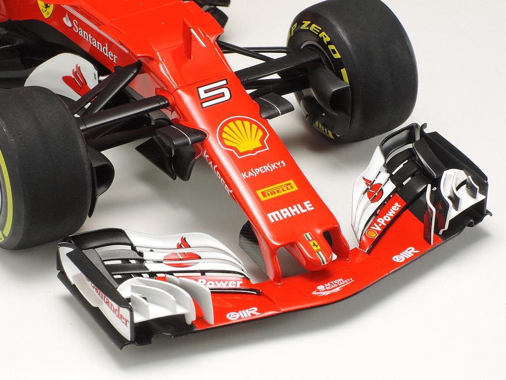 Tamiya 1//20 Grand Prix Series No 68 Ferrari SF 70 H Plastic Model 20068