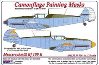 Camouflage painting masks MESSERSCHMITT Bf-109E Fighter - Image 1
